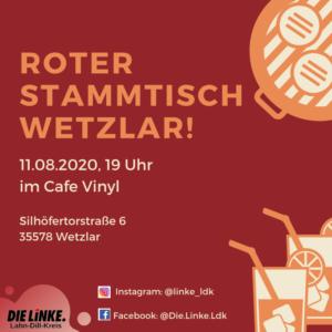 Roter Stammtisch Wetzlar @ Cafe Vinyl